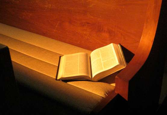 Bible In Pew P50